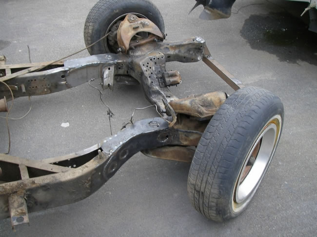 41 Chrysler Street Rod front suspension from S10?